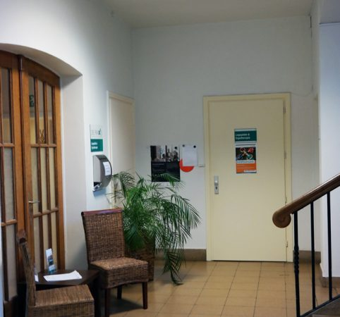 DIE PRAXIS Melle: Eingangsbereich