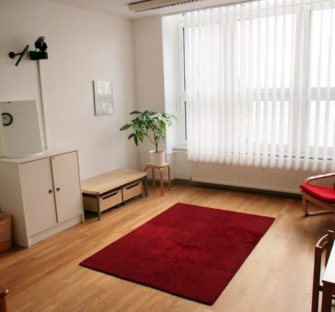 DIE PRAXIS Berlin: Therapieraum